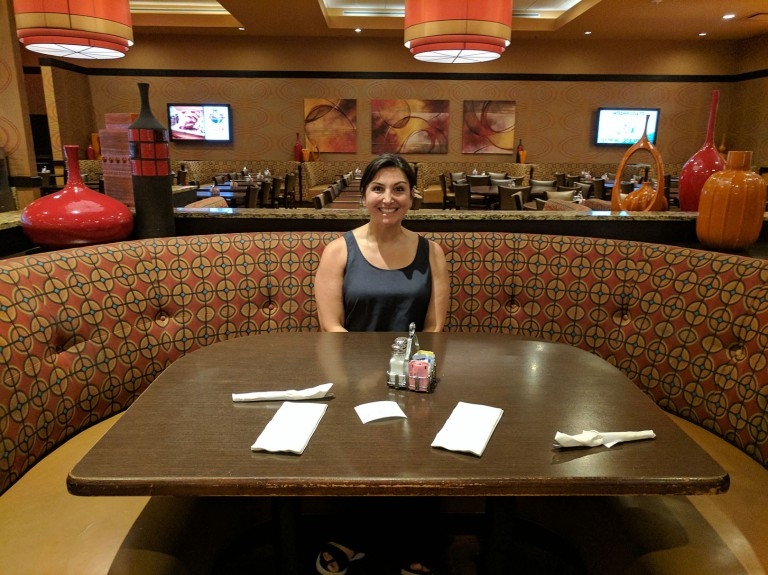 Golden Nugget casino buffet in Biloxi, Mississsippi