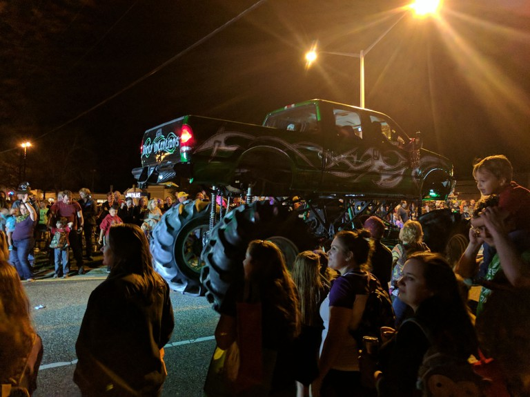 Mardi Gras Parade in Covington, Louisiana