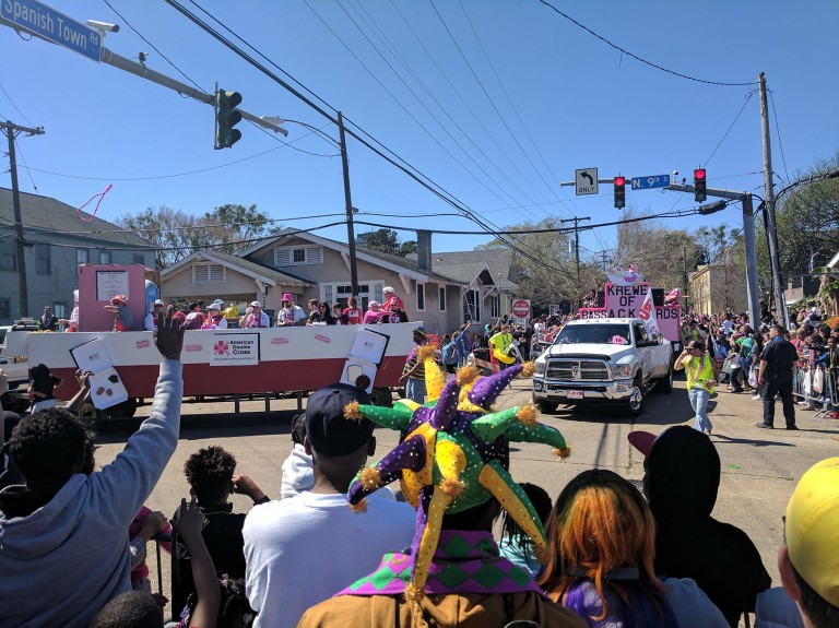 Mardi Gras in Baton Rouge, Louisiana