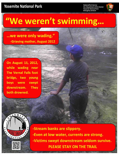 NPS-poster-we-werent-swimming-we-were-only-wading